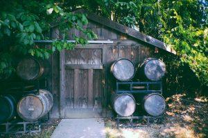 cabane de jarden en bois